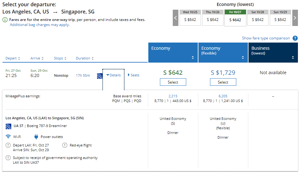 United to launch non-stop flight from Singapore to Los Angeles ...