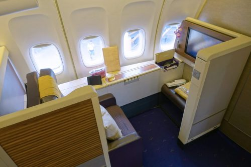 Thai 747 First Class Review